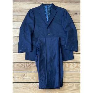 New HART SCHAFFNER MARX Unhemmed Wool Suit Pants